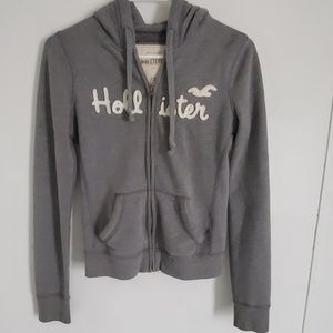 Gray Hollister Jacket